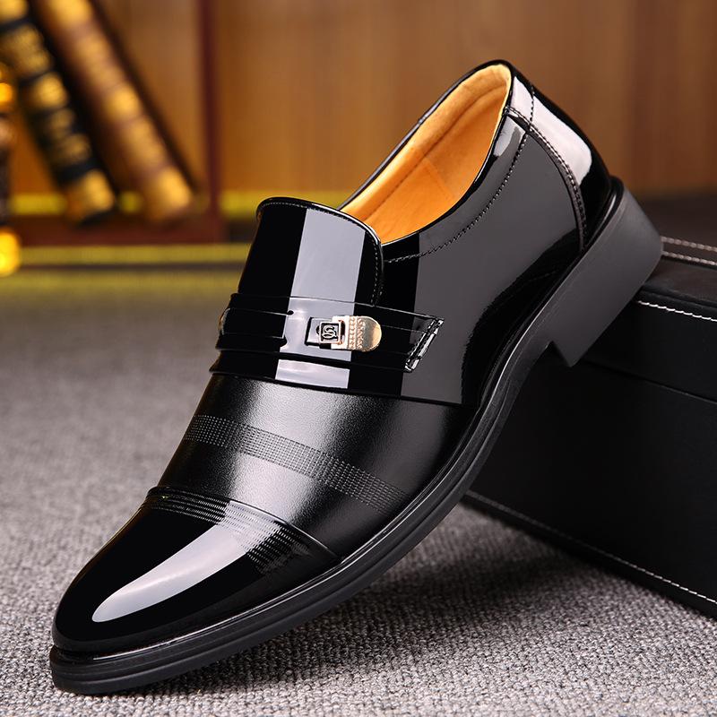Giày Tây tăng chiều cao vô hình , giày công sở cho nam .