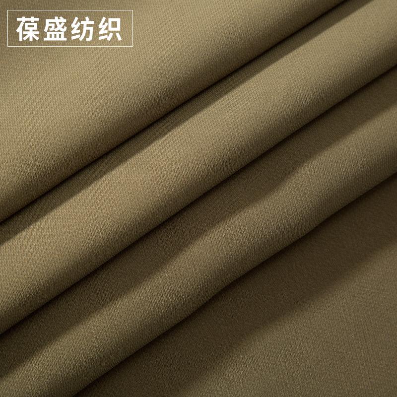 Vật liệu tổng hợp Mật độ cao chà nhám áo khoác vải tổng hợp lụa xiên satin thời trang quần áo vải bá