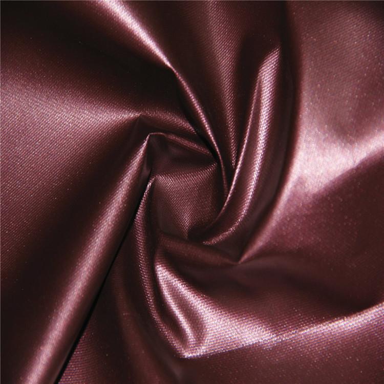 Vải polyester tráng vải Oxford / vải dập nóng / dập nóng bạc lót vải trang trí / nhà máy bán hàng tr