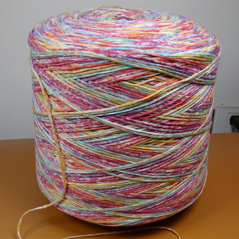 Jintao Sợi Fancy sợi rỗng phun sợi dệt kim sợi len áo len sợi nitrile pha trộn sợi ưa thích nhà máy