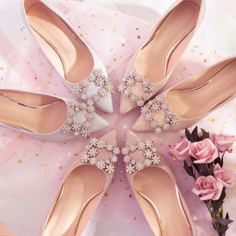 Giày Búp bê Cao gót Mũi nhọn dành cho nữ , Thương hiệu : FUHAO