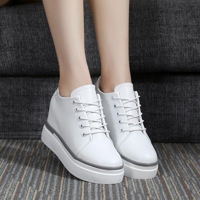 XNML - Giày Da Thể Thao Kiểu giày  bánh mì cho Nữ