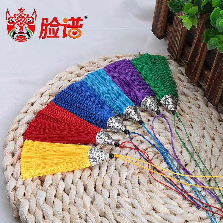 FACEBOOK sợi tua Cá dẹt miệng tua rua tai chống nhăn hợp kim Trung Quốc phong cách bookmark chải quầ