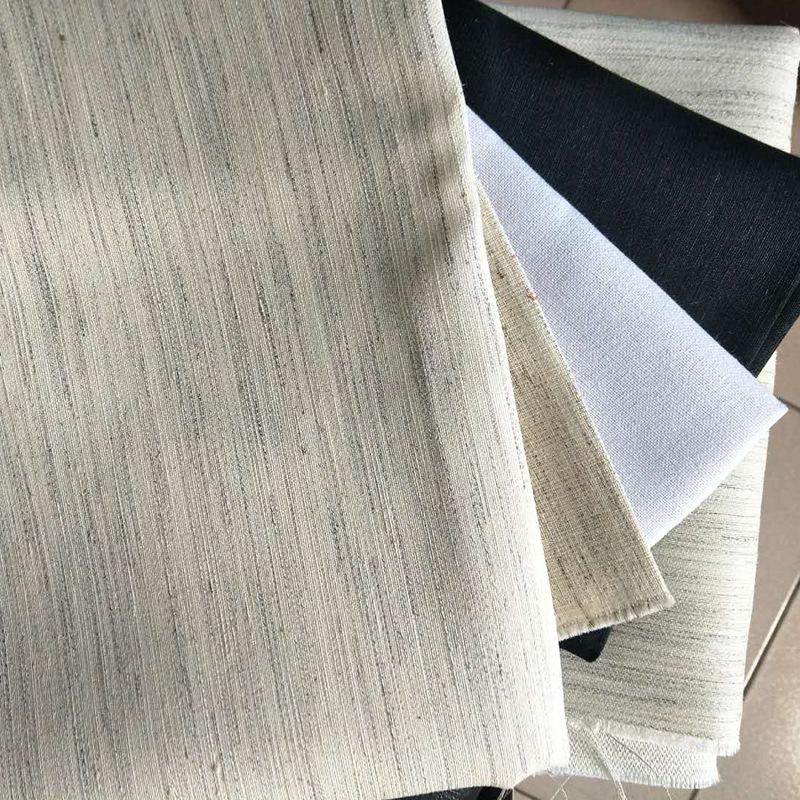 KAIHUI Vải lót Nhà sản xuất gia công lót carbon đen tất cả các loại quần áo lót vải lót giấy lót lót