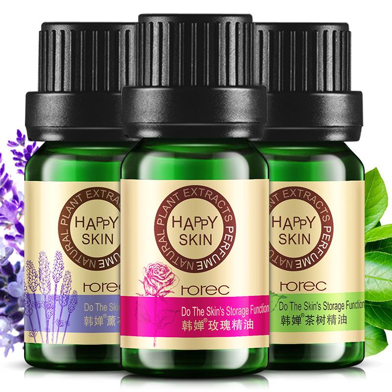 HANCHAN Tinh dầu Han Yu Lavender Tea Tree Rose Oil Facial Essential Oil Plant Dưỡng ẩm Nuôi dưỡng ti