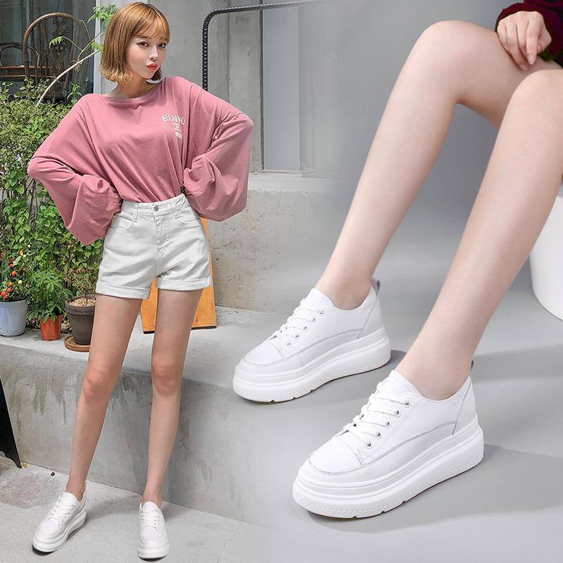 Thời Trang Giày thể thao Dành Cho Nữ , Giày tăng chiều cao Hiệu MIVEAKA