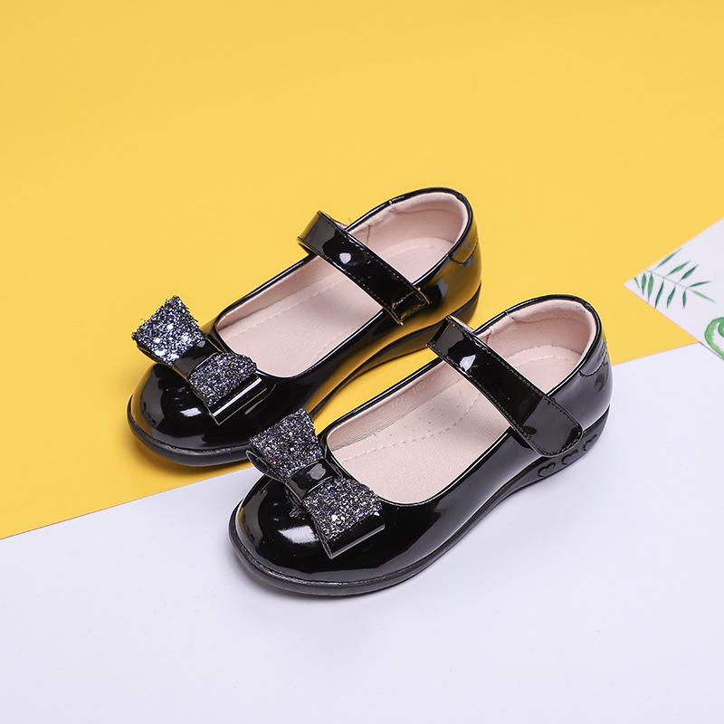 SHUIGUOCHE - Giày búp bê trẻ em , kiểu công chúa dành cho bé gái .