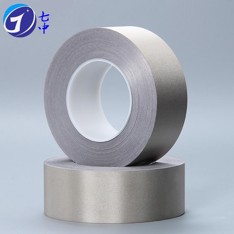 QIZHONG Nguyên liệu sản xuất điện tử Băng keo hai mặt Băng keo mạ bạc hai mặt chịu lực thấp Vật liệu