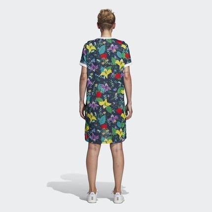Adidas  Váy Adidas chính thức Adidas clover GRAPHIC T-DRESS váy nữ ED6594