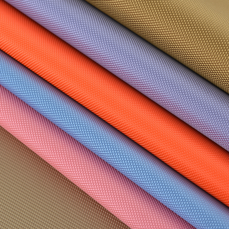 BAIYI Vải Polyester Nhà máy trực tiếp 1680D đôi polyester oxford PVC vải ba lô túi máy tính túi vải