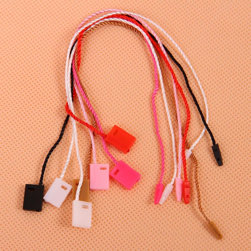 HAOXIN Chuỗi tag , Tag logo Điểm chung treo hạt thẻ dây nhựa vuông đầu dây treo nhà máy bán buôn trự