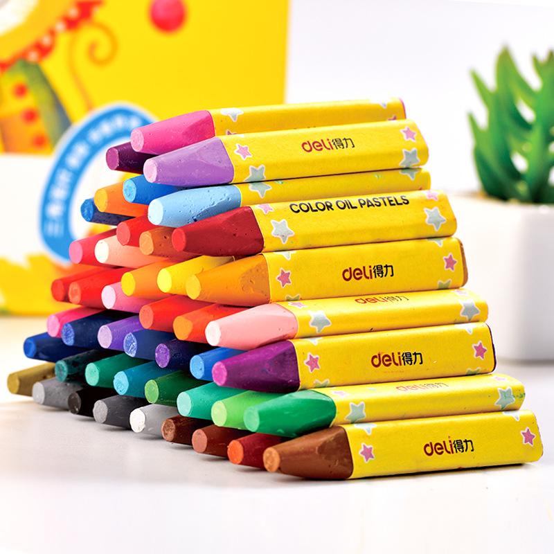 Bút chì Sơn dầu 48 màu cho trẻ em  hãng DELI