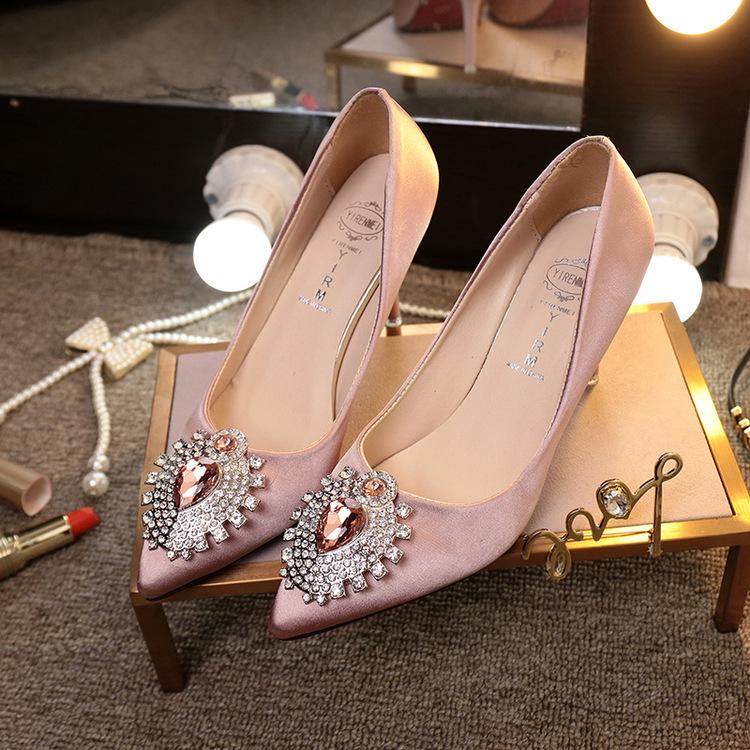 Giày Búp bê Cao gót Mũi nhọn dành cho nữ , Thương hiệu : TAOFEI