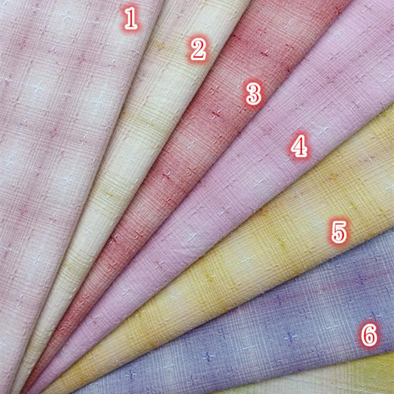Vải Yarn dyed / Vải thun có hoa văn Cotton nhóm vải nhuộm đầu tiên Vải chéo chéo Vải dệt màu kẻ sọc