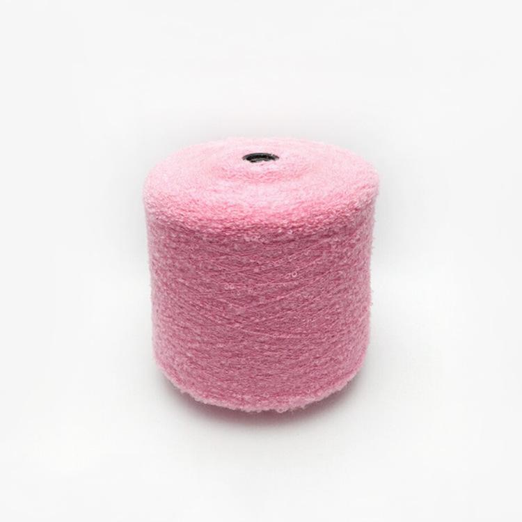 QIYAO Sợi Fancy Các nhà sản xuất cung cấp Bán hàng trực tiếp 15 vòng sợi 65% acrylic, 35% sợi nylon