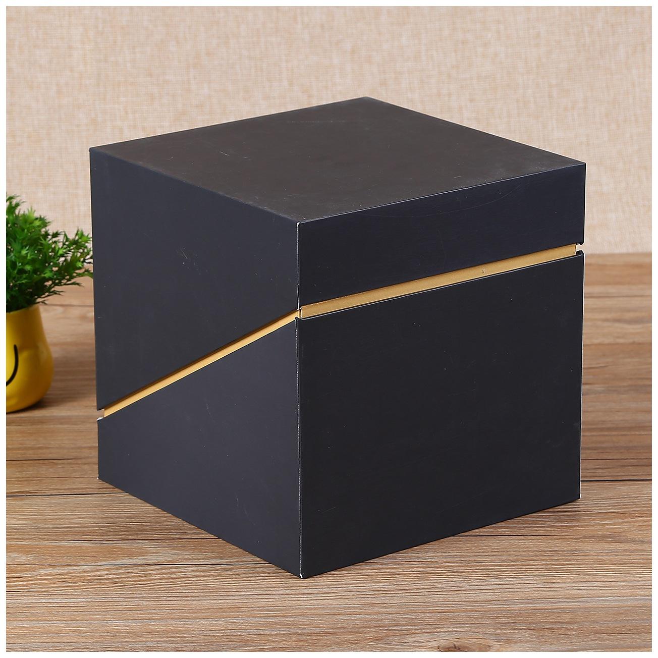 JUNSEN NLSX bao bì Nhà sản xuất bán buôn đồ trang sức bao bì carton thời trang vuông hộp quà tặng tù