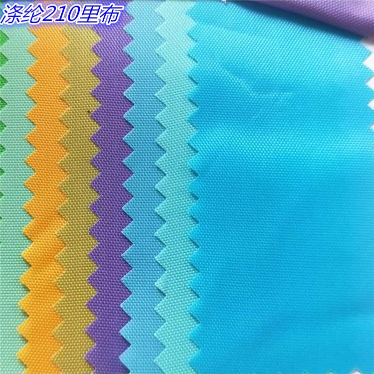 Vải polyester có sẵn 210 lót 210D Túi vải Oxford có túi vải chịu được mã kéo