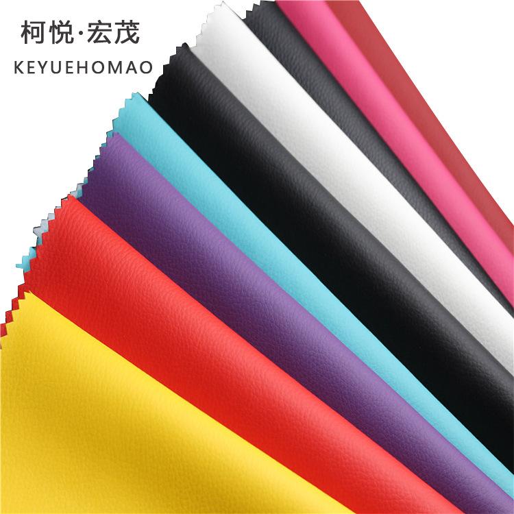 Ke Yue Hongmao Da heo tại chỗ bán buôn một nửa pu túi vải sofa ghế xe nhân tạo bán trực tiếp nhà máy