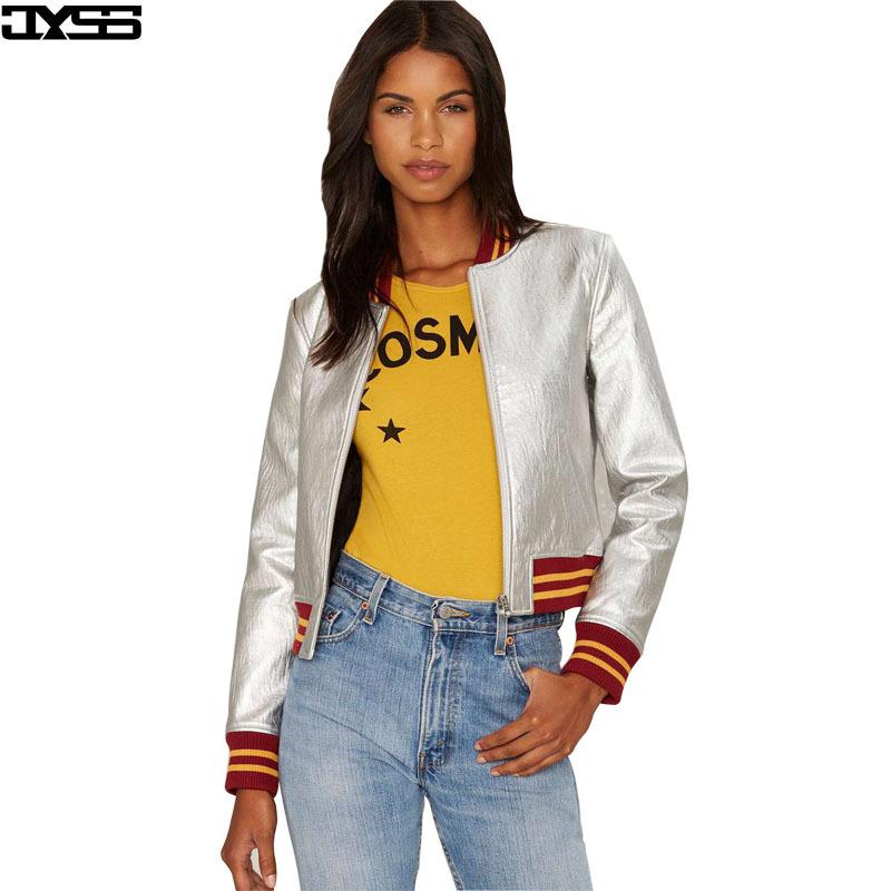 Áo khoác nữ trơn vải da màu tím JYSS