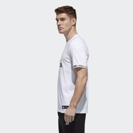 Adidas Áo thun Áo thun thể thao nam ngắn tay thể thao CNY SS T GFX chính thức của EA2108EA2109