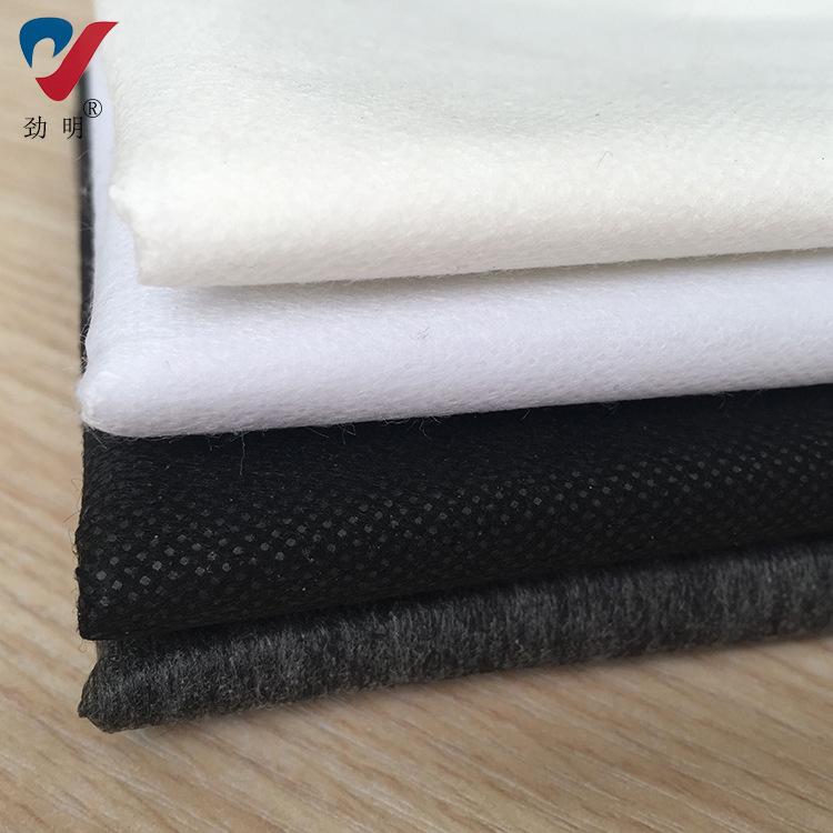 Jinming Vải lót lót không dệt có thể giặt Interlining liên kết Bán buôn lót 20g Quần áo lót nhẹ Nhà
