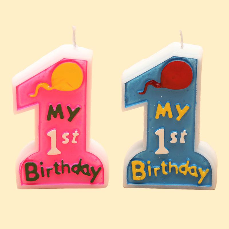 Nến trang trí sinh nhật , kiểu số 1 cho bé.