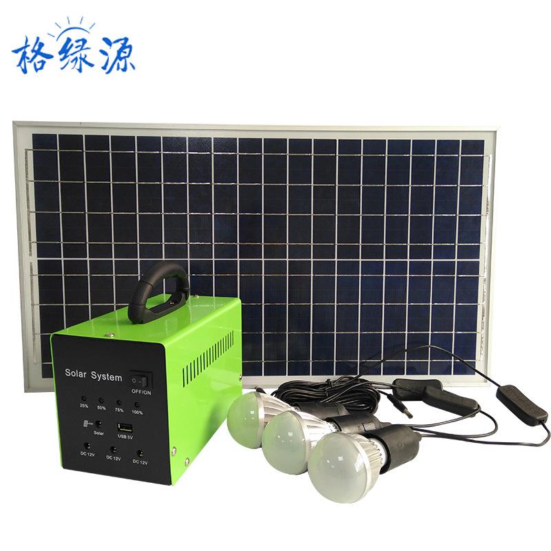 Thiết bị cung cấp năng lượng quang điện di động dùng cho hộ gia đình . GELVYUAN  - 30W