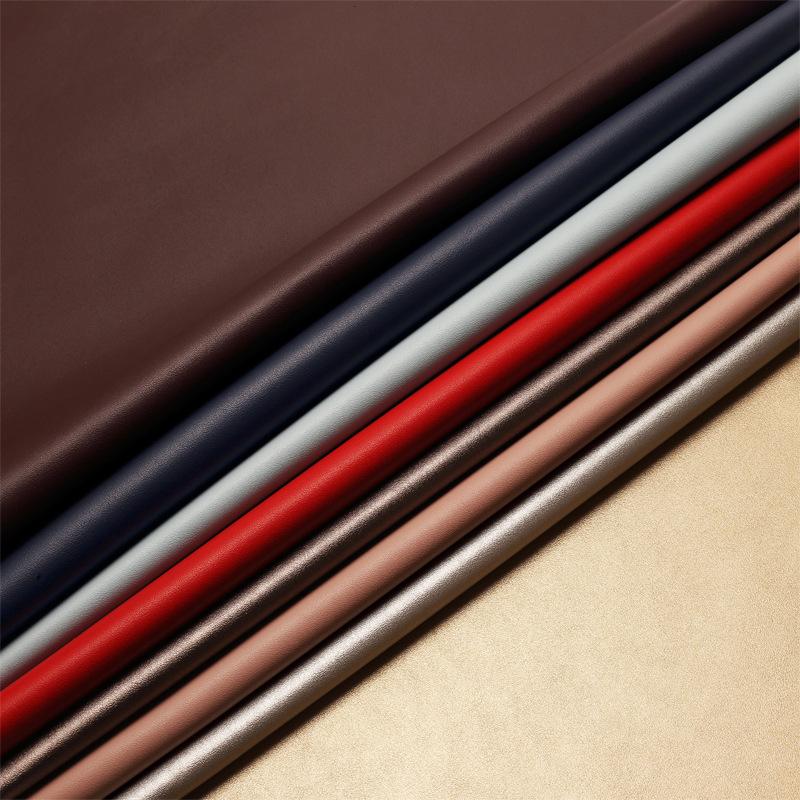 HAUXIN Da bò Nhà máy trực tiếp H2317 túi da bò siêu mịn Giày da da bảo vệ môi trường 42 màu hoàn chỉ
