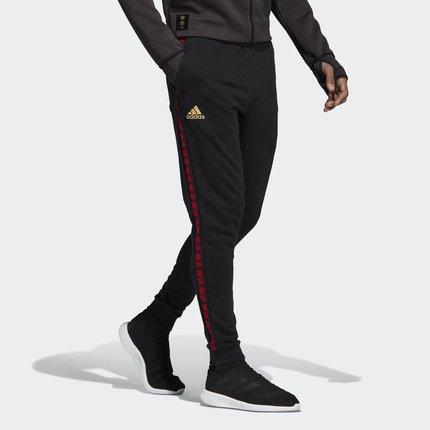 Adidas Quần Adidas chính thức MUFC CNY SW PNT nam Manchester United quần bóng đá năm mới DZ0457