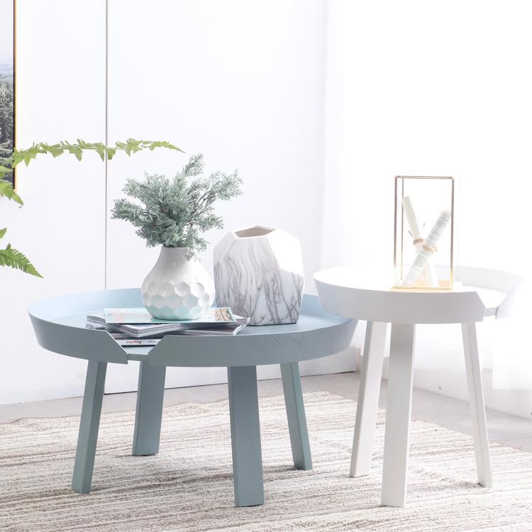 MinDaWe Nội thất bàn Gỗ cà phê nhỏ đơn giản cho phòng khách hiện đại .