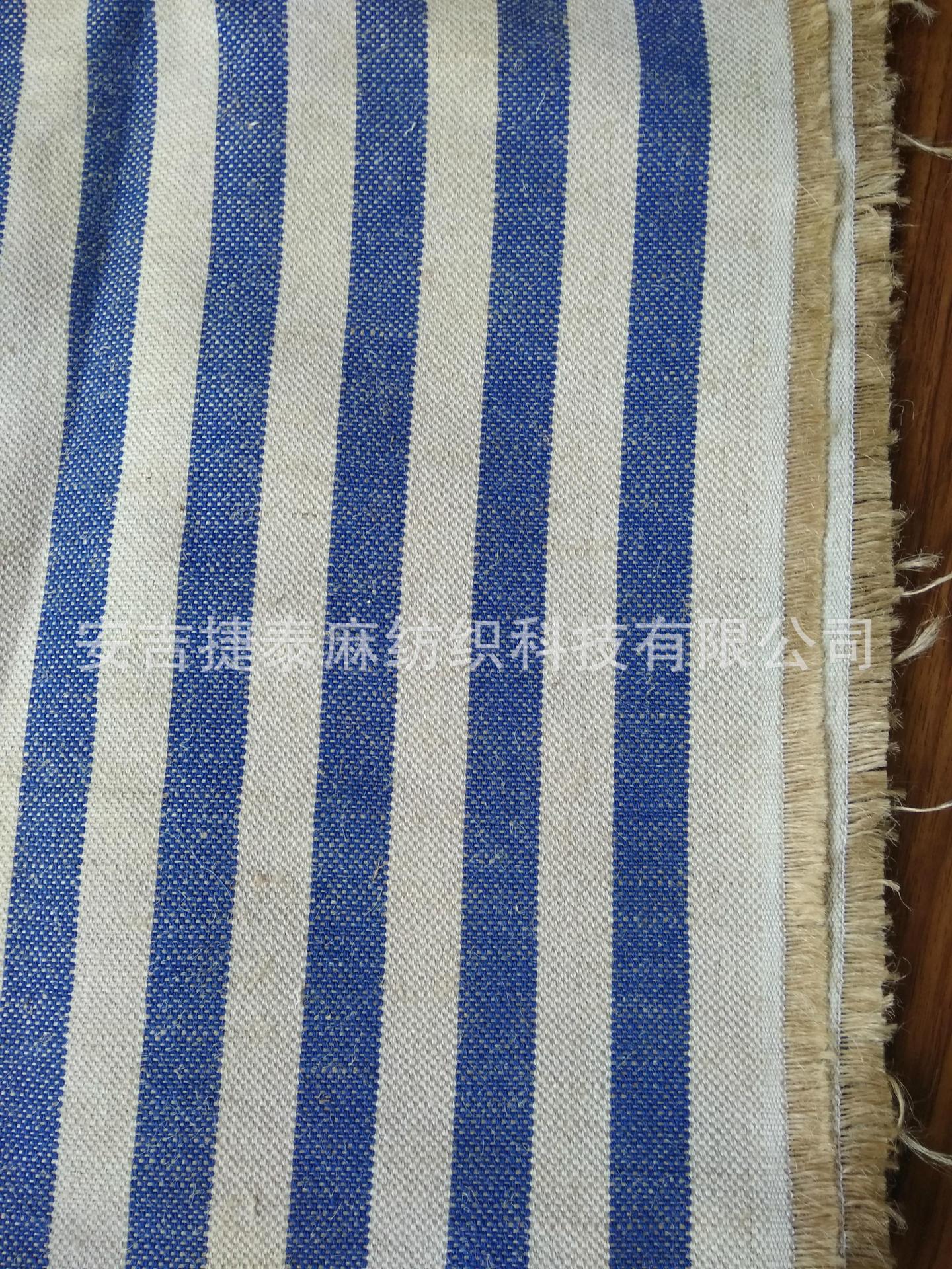 Vải Cotton pha Bông và vải lanh đan xen sợi dệt Bông và vải lanh pha trộn sợi dọc dệt đơn