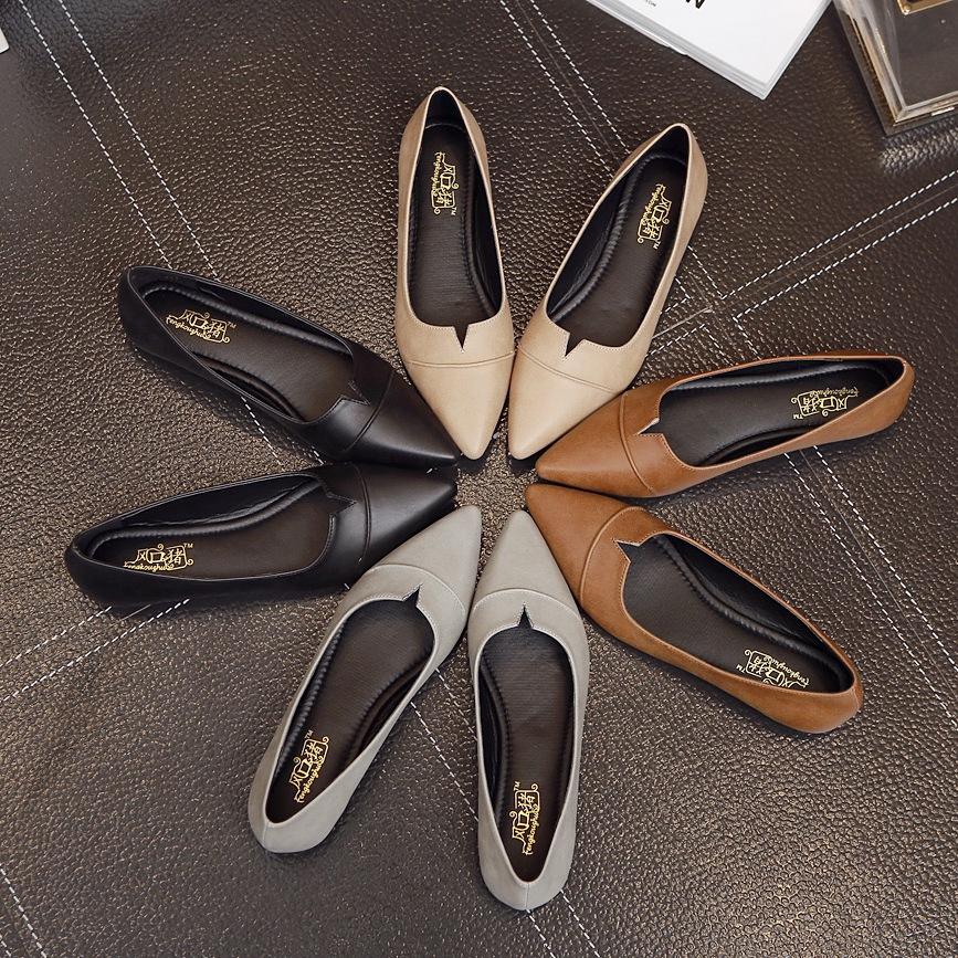 Giày búp bê Mũi Nhọn dành cho Nữ , Thương Hiệu : FENGKOUZHU .