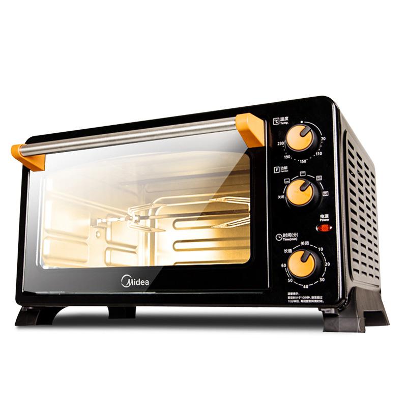 Midea Lò vi sóng, lò nướng / Midea MG25NF-AD lò nướng điện đa năng nhà làm bánh nướng công suất lớn