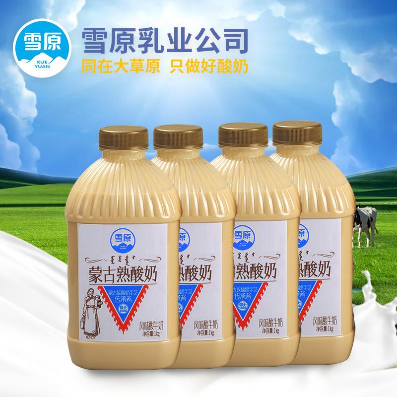 sữa chua nấu lên men Snowy Mông Cổ