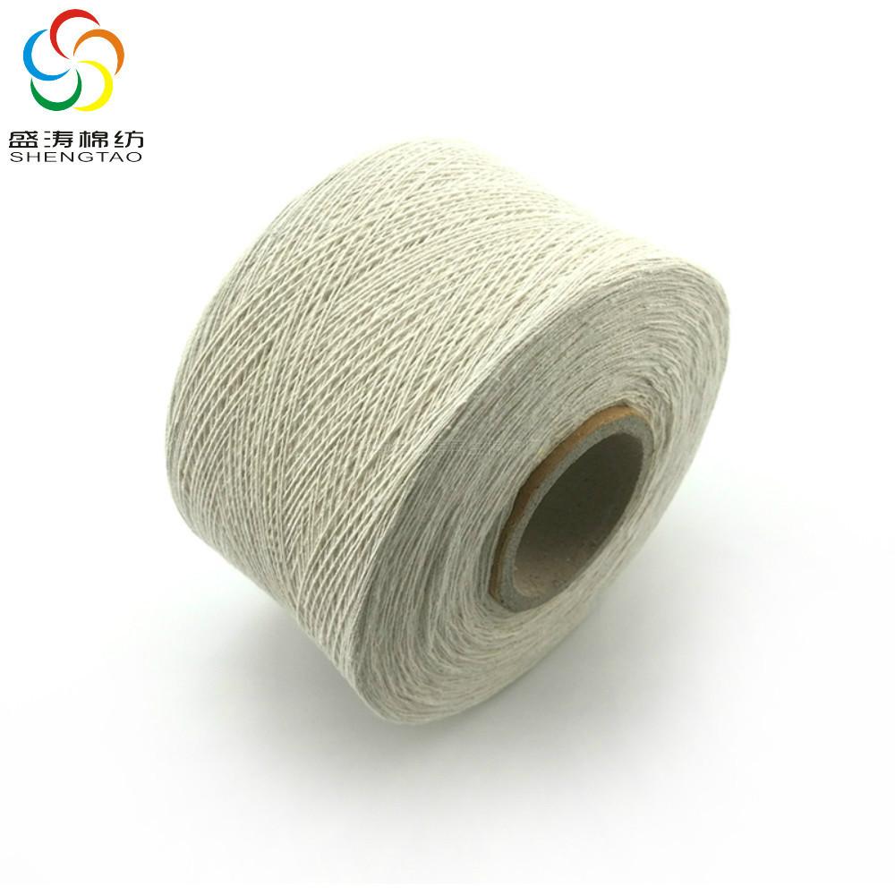 SHENGTAO Sợi bông Khuyến mại giá thấp 7 sợi bông trắng sợi đơn kéo sợi không khí sợi nến đầy sợi bôn