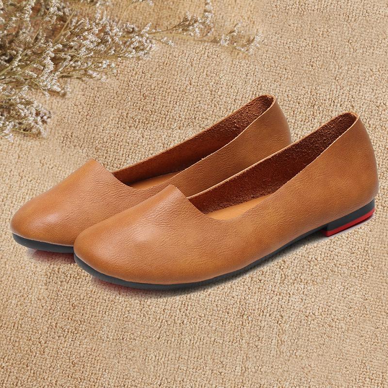 Giày Búp Bê bằng da dành cho nữ  .