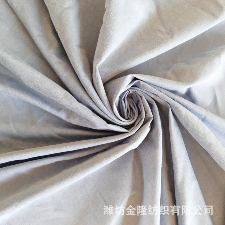 JINLONG Vải mộc sợi hoá học Sản xuất vải polyester hóa chất sợi xám, hành lý, vải giường, nhà sản xu