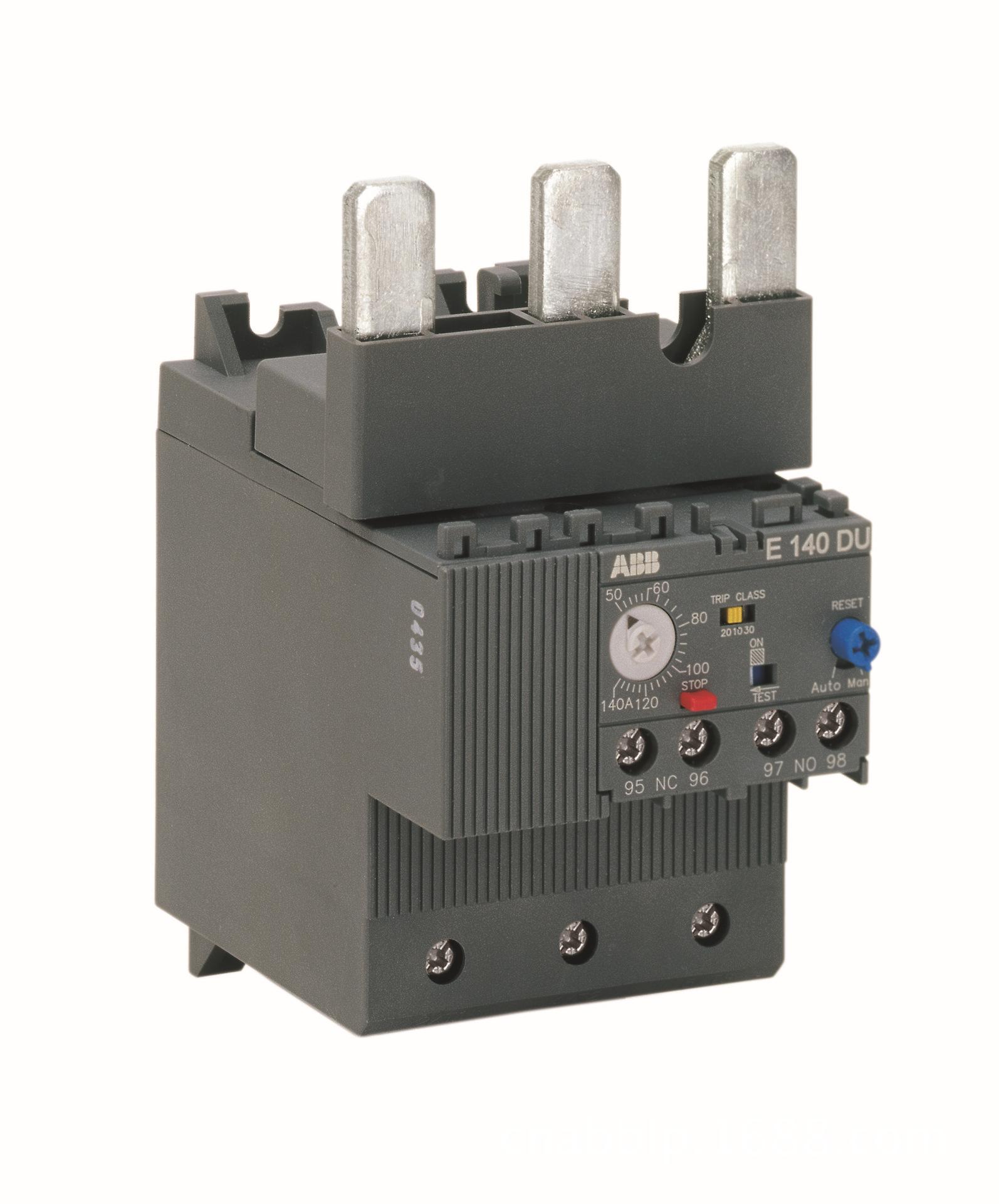 E140DU-140 Rơ le nhiệt điện tử bảo vệ quá tải ABB (50-140A)