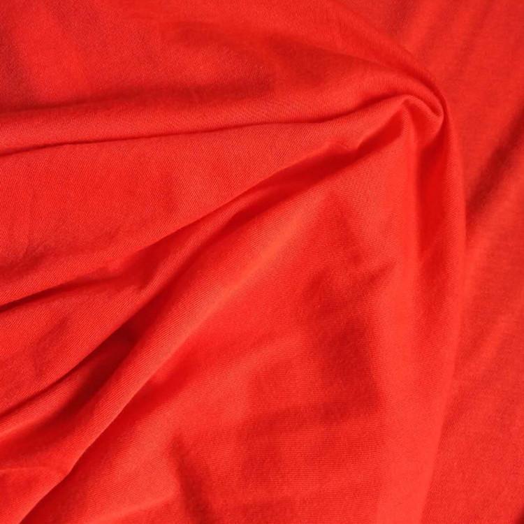 Vải dệt kim Bán buôn tùy chỉnh thập niên 40 chải bông vải dệt kim đồ lót t máu vải