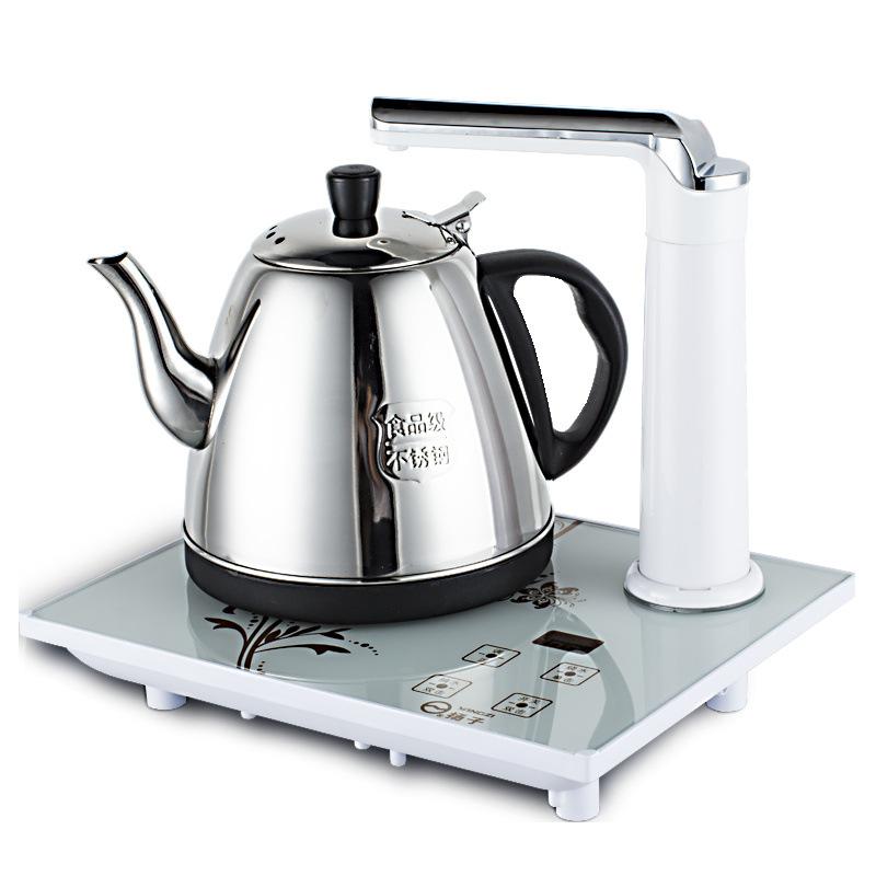 LINGYUE Nồi lẩu điện, đa năng, bếp và vỉ nướng Hộ gia đình thông minh máy nước nóng tự động ấm đun n