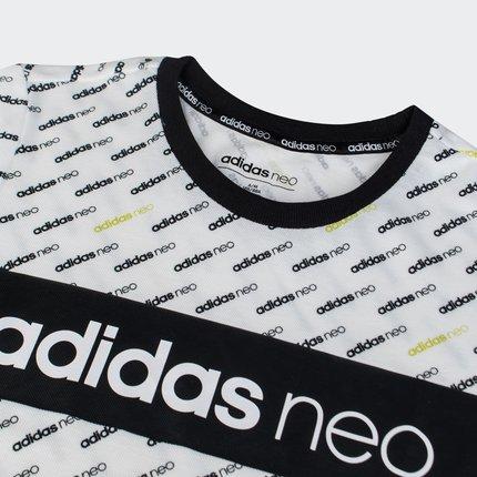Adidas Áo thun Adidas chính thức Adidas neo W LINEAR LOGO T áo thun nữ ngắn tay