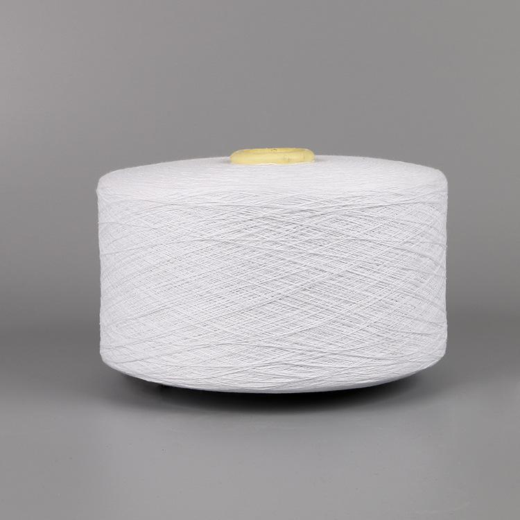 JINXUN Sợi bông Sản xuất 8-28 sợi cotton được khai hoang bán chải kỹ Sợi dệt sợi tinh khiết màu trắn