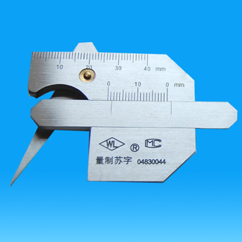 HUAGONG Dụng cụ đo độ sâu, độ cao Thước đo chiều cao mối hàn chính xác chiều cao chất lượng cao bền