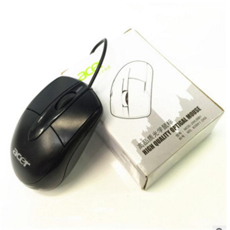 Acer Phụ kiện máy xách tay Nhà máy bán buôn Mới Acer Acer USB chuột có dây Chuột máy tính xách tay P