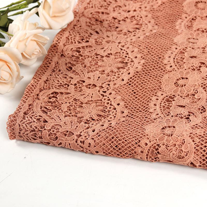 XINFENG Vải thêu Mới nổi tiếng nhiều màu phong thủy vải thêu váy cưới vải sườn xám thêu vải nhà máy