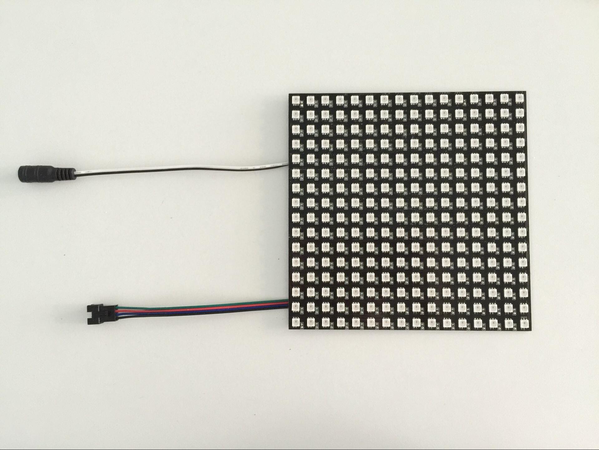 đèn đường 5V 5050 lưới tính dẻo điểm ảnh màn hình tích hợp IC pixel SK6812 lập trình mềm