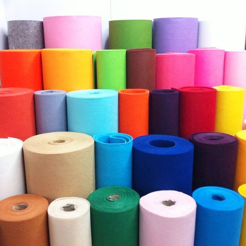 RUNZHEN Vải không dệt Tùy chỉnh màu sắc không dệt cảm thấy bán buôn thủ công tự làm trang trí tường