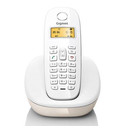 Gigaset Điện thoại Đức Gigaset A680 điện thoại không dây màu trắng văn phòng điện thoại cố định nhà