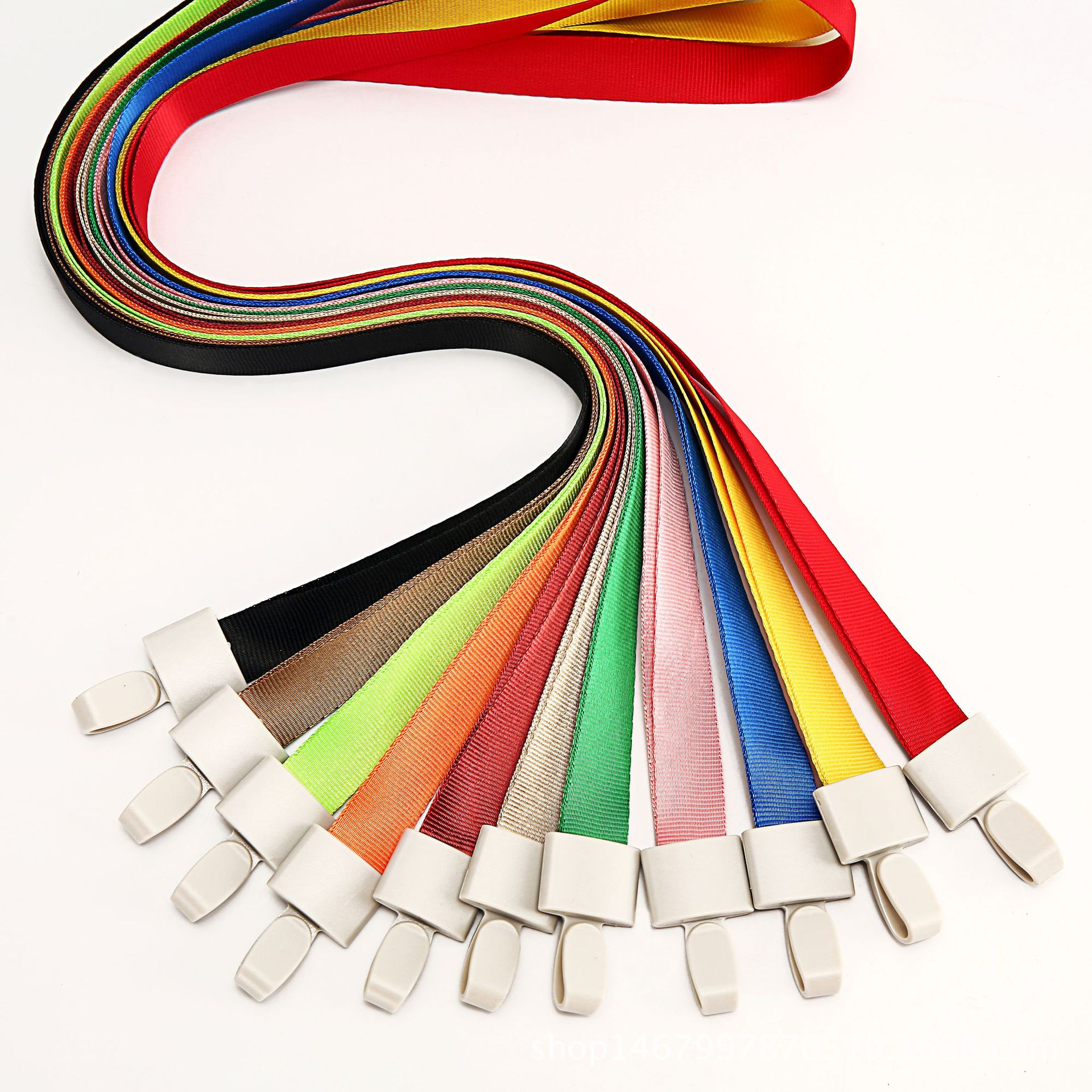 JINBANG dây đeo Nhà máy cổ phiếu bán hàng trực tiếp nhựa khóa tài liệu triển lãm dây buộc giấy phép