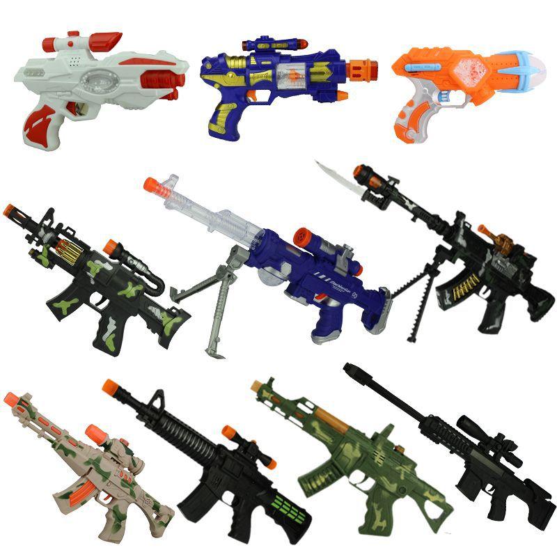 SUISUIXIONG   đồ chơi súng bắn có âm nhạc và ánh sáng rung .